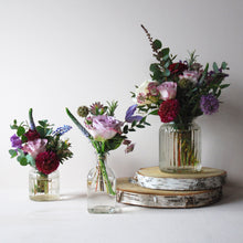 Garden Flowers in Bottles & Jars