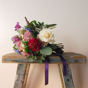 Garden Flower Girl's Posy