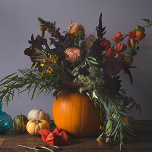 Saturday 27th October: Pumpkin Table Arrangement