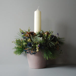 Large Christmas Eve Table Centre