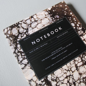 Katie Leamon B5 Marble Notebook