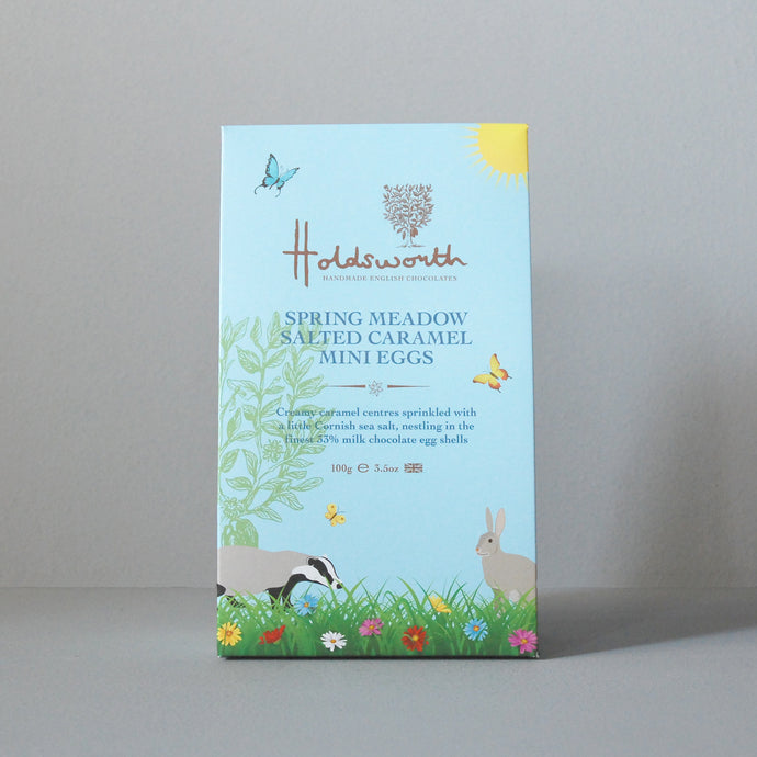 Holdsworth Spring Meadow Salted Caramel Mini Easter Eggs