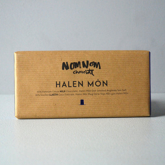 NomNom Halen Môn Chocolate Bar
