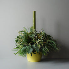 Small Evergreen Christmas Table Centre
