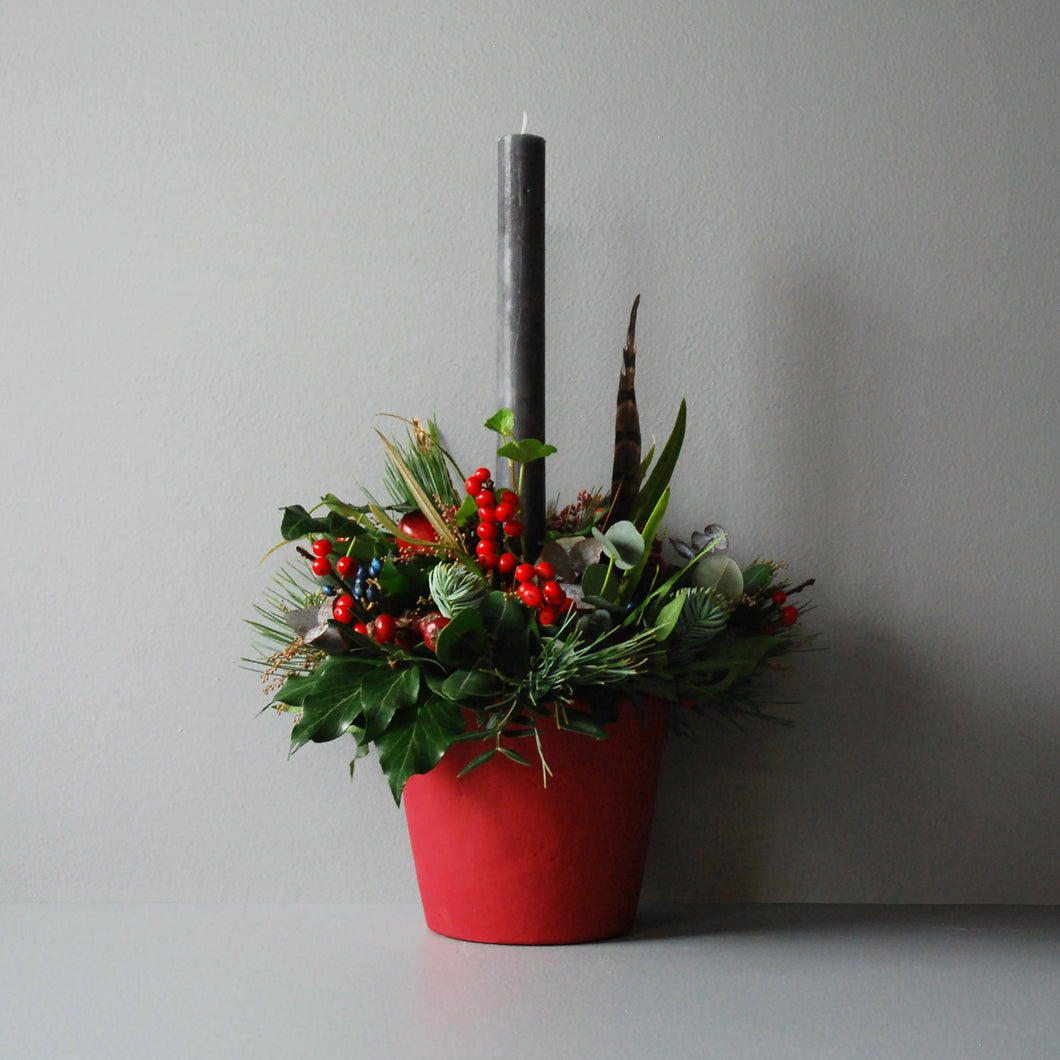 Small Christmas Day Table Centre