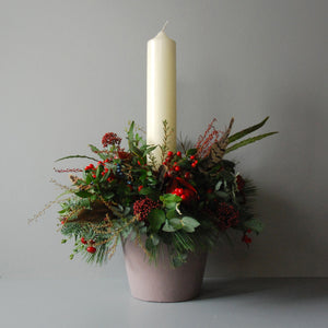Large Christmas Day Table Centre