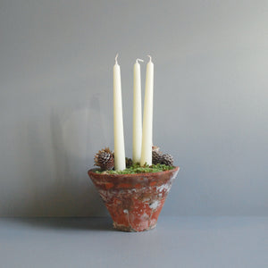 Trio of Candles Pot
