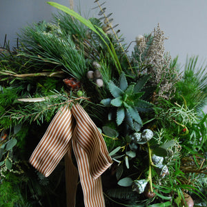 Evergreen Christmas Wreath