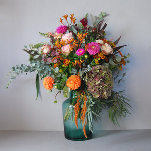 Saturday 10th November: Autumn Vase Arrangement