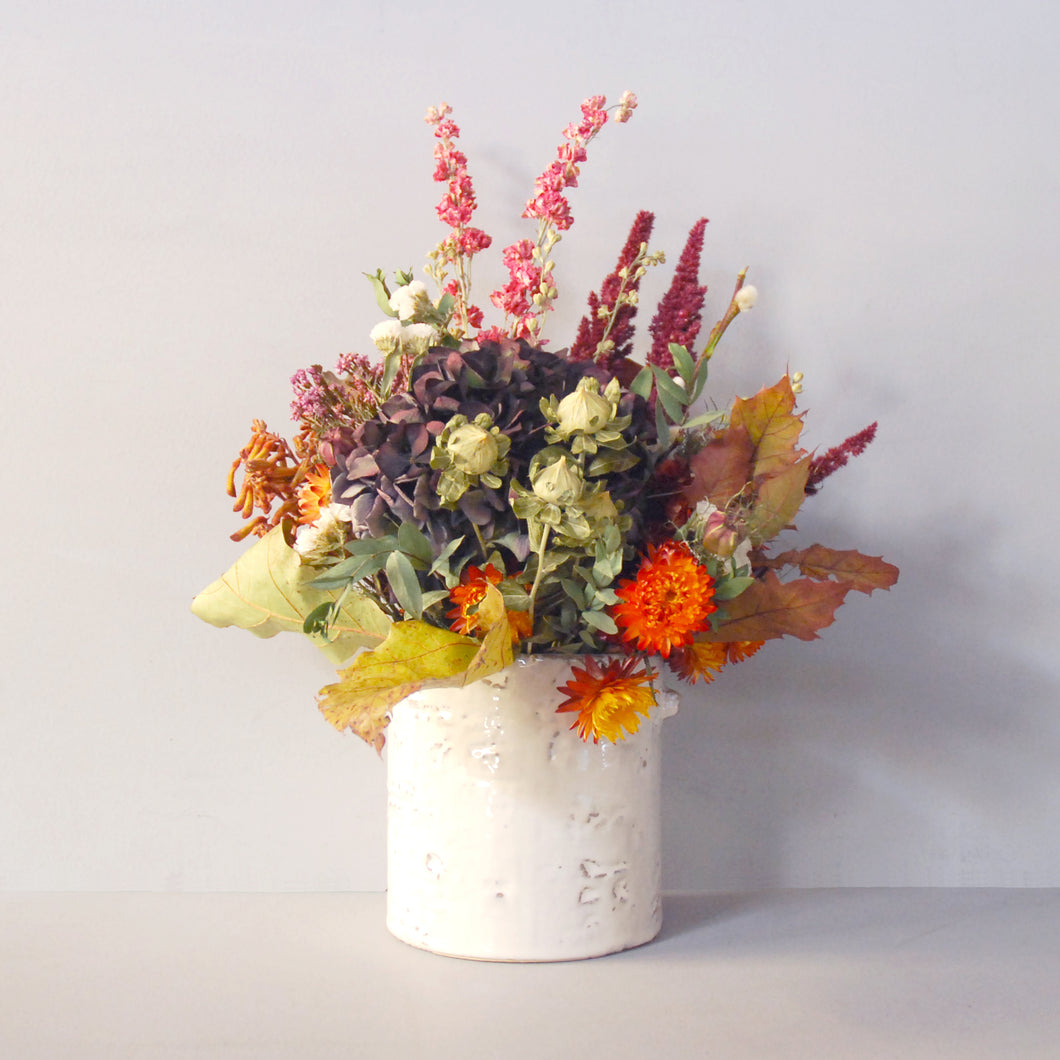 Large Everlasting Autumn Flower Pot