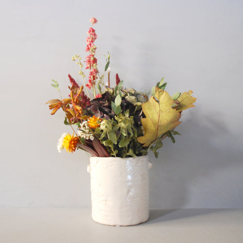 Small Everlasting Autumn Flowers Pot
