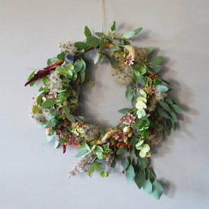 Everlasting Flower Wreath