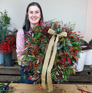 Home Flower School Lesson 4: Christmas Wreath Kit