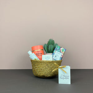 Catkin & Pussywillow Gift Belly Basket (S)
