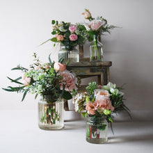 Meadow Flowers in Bottles & Jars