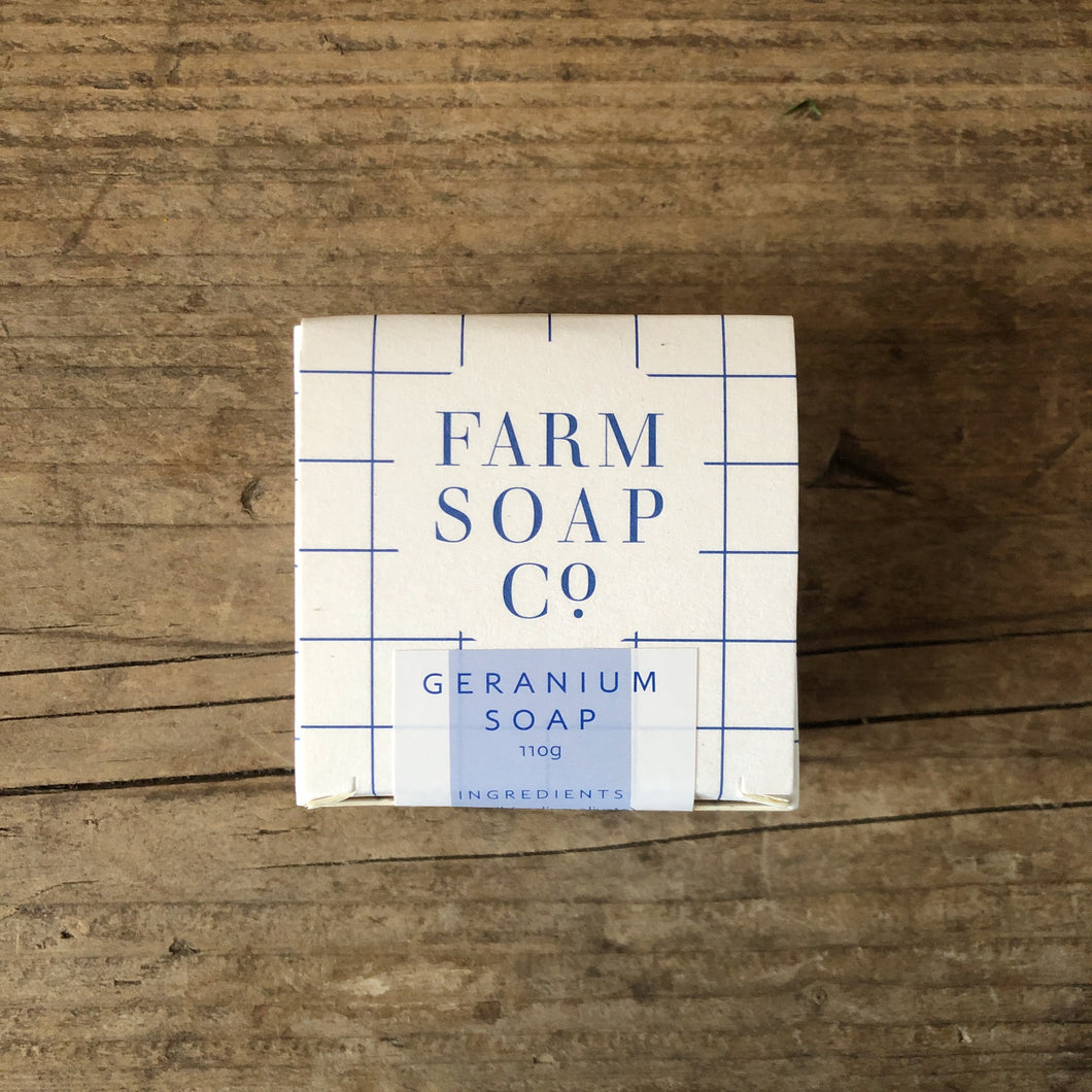 Farm Soap Co Geranium