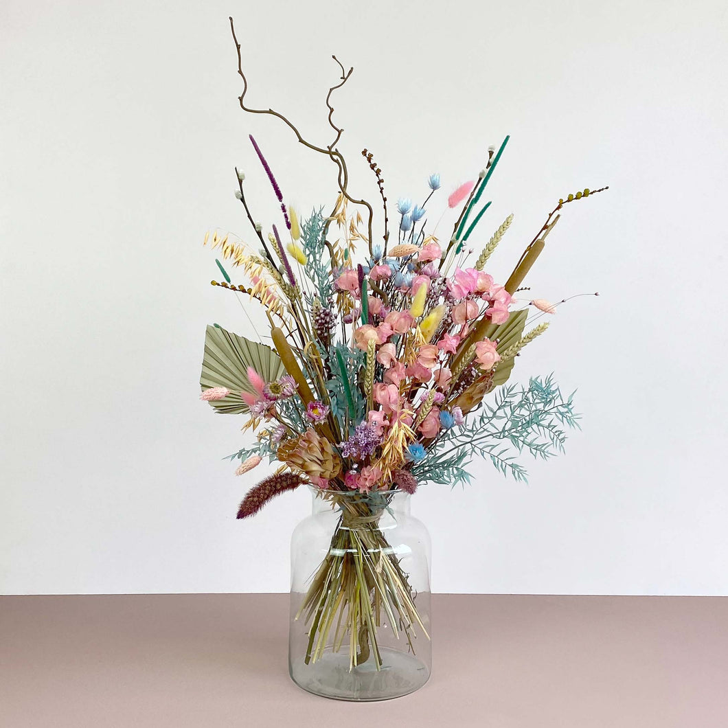 Pastel Dried Flowers