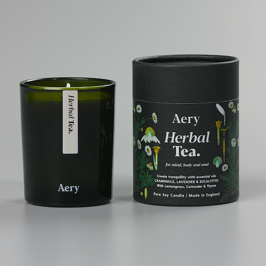 Herbal Tea Candle