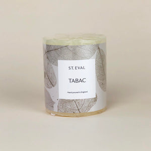 St. Eval Tabac Pillar Candle