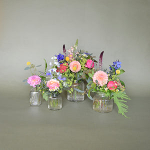 Festival Flowers in Bottles & Jars