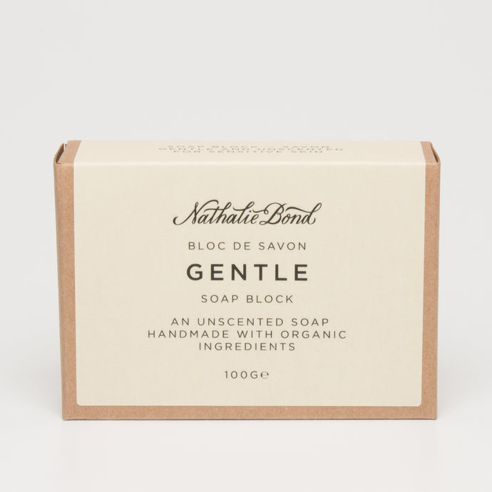 Nathalie Bond Gentle Soap Block