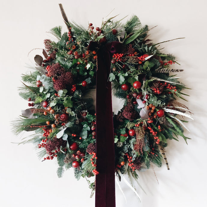 Saturday 7th December: Make Your Own Christmas Door Wreath