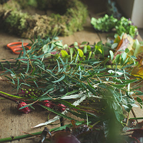 Saturday 7th December: Intermediate Christmas Garland Workshop