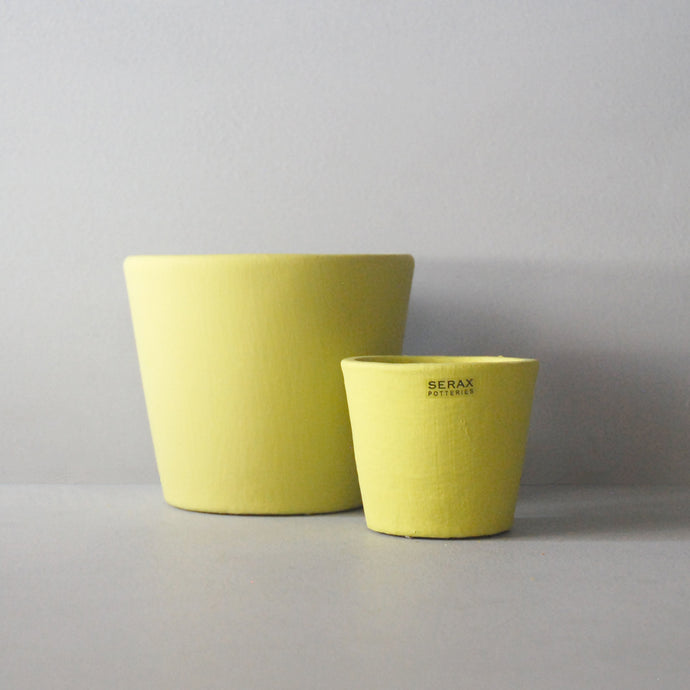 Ceramic Plant Pot Yellow