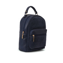 Load image into Gallery viewer, Navy Minimalist Backpack-Code 401