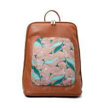 Load image into Gallery viewer, Laptop Camel with Beige embroideries fabric Backpack/Cross - Code 2012