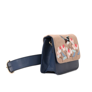 JAY Navy Cross/waist Bag - - Code 703