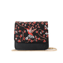 Load image into Gallery viewer, Hummingbird Black Cross/waist Bag - - Code 700