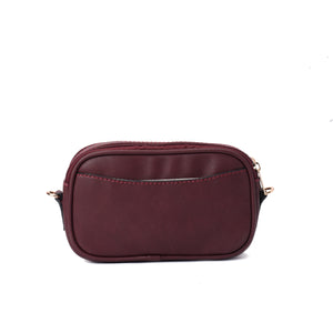 Burst Burgundy Handbag - Code 945