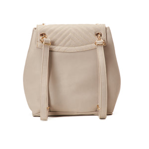 Quilted Nude Backpack - Code 802