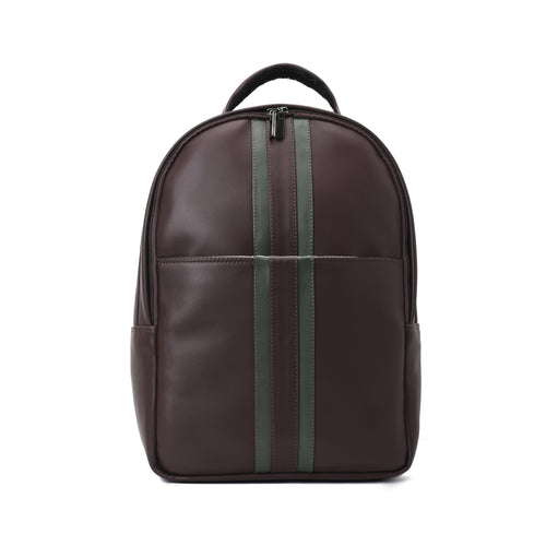 Laptop Classic Brown Backpack- Code 501