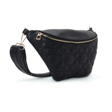 Load image into Gallery viewer, Fanny pack - Black with Mamluki stars Pattern- Code 1001