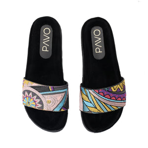 Feather Slippers - Code 5011