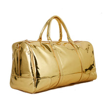 Load image into Gallery viewer, Gold Duffle Bag leather - 304