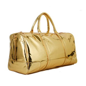 Gold Duffle Bag leather - 304