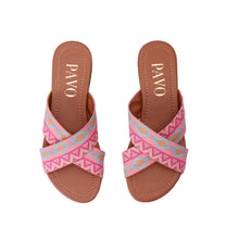 Load image into Gallery viewer, Coral cross Slippers - Code 5002