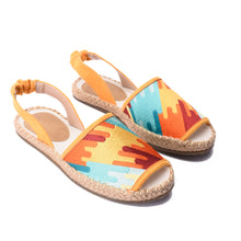 Load image into Gallery viewer, Galaxy Yellow Sandal -5301
