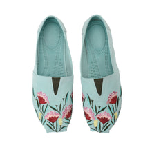 Load image into Gallery viewer, Tulip Mint Green Espadrilles-5101
