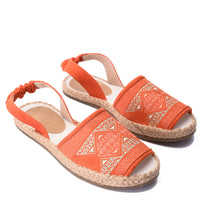 Load image into Gallery viewer, Nirvana Orange Sandal -5303