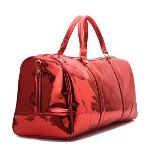 Red Duffle Bag leather -310