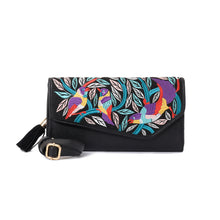 Load image into Gallery viewer, Egyptian Khaymia Black V clutch Bag - Code 730