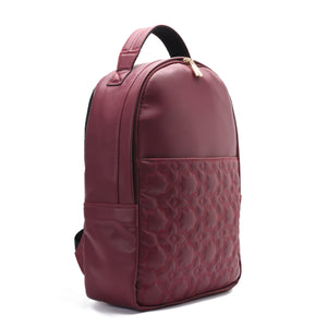Laptop Burgundy with Mamluki stars Backpack - Code 506