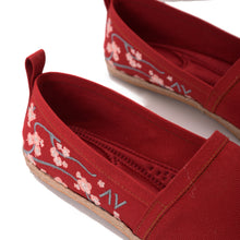 Load image into Gallery viewer, Cherry Blossom Espadrilles-5201
