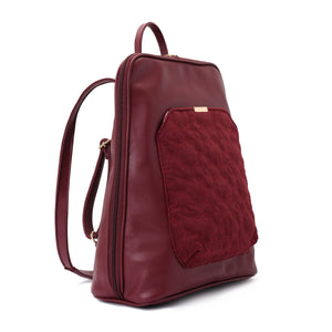 Laptop Burgundy with Burgundy suede Backpack/Cross - Code 2005