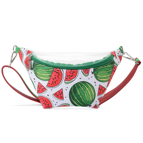 Fanny Beach bag with Watermelon Fabric- 3003
