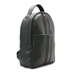 Laptop Classic olive green Backpack -Code 507
